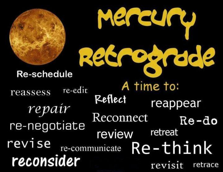 Mercury Retrograde 7th July – 1st August 2019 – Beverly Carinus